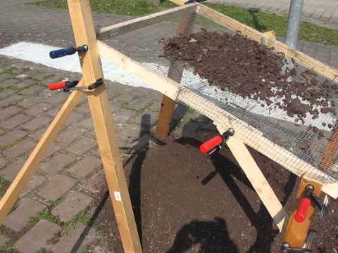 elektrisches kompostsieb marke eigenbau doovi. Black Bedroom Furniture Sets. Home Design Ideas
