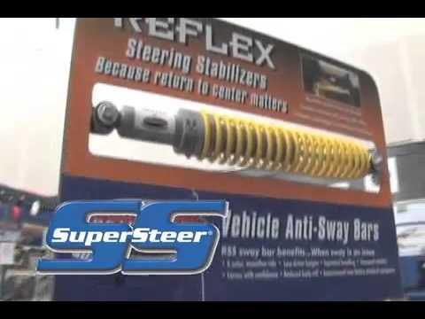 RV motorhome problem steering tracking suspension SuperSteer Promo  http://www supersteerparts com/