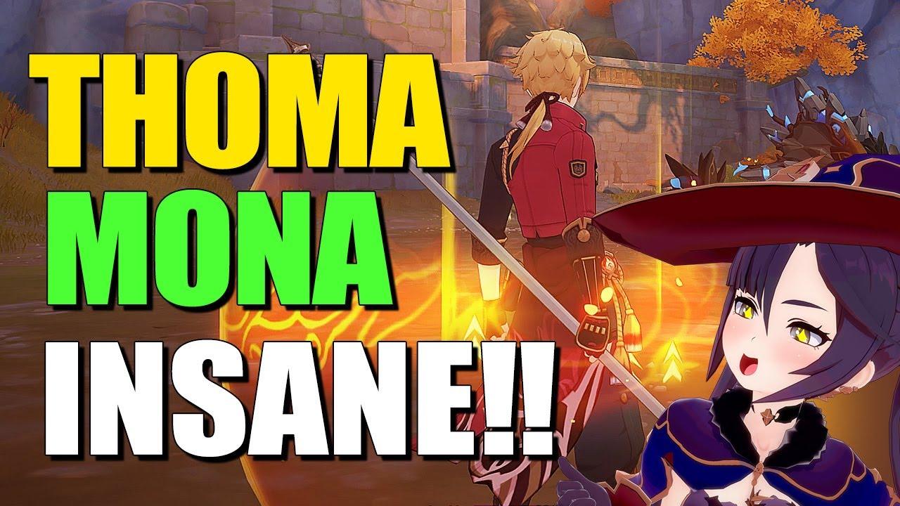 Thoma Mona TEAM COMBO | Genshin Impact