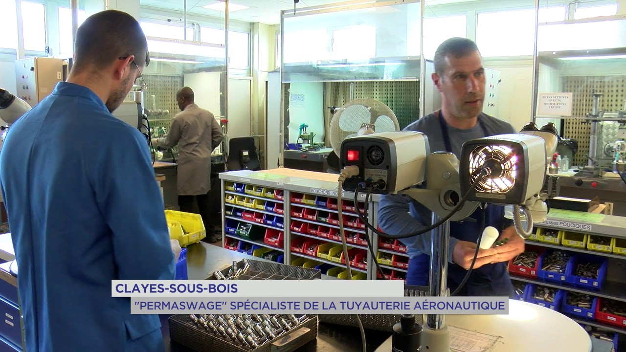 Yvelines | Clayes-sous-Bois : Permaswage spécialiste de la tuyauterie aéronautique