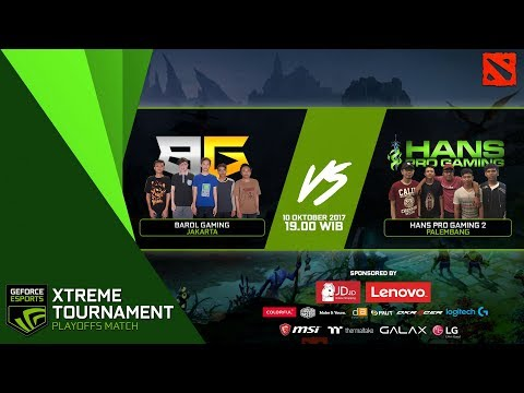 GEXT Dota 2 Series PlayOff: Barol Gaming (Jakarta) vs Hans Pro Gaming 2 (Palembang)