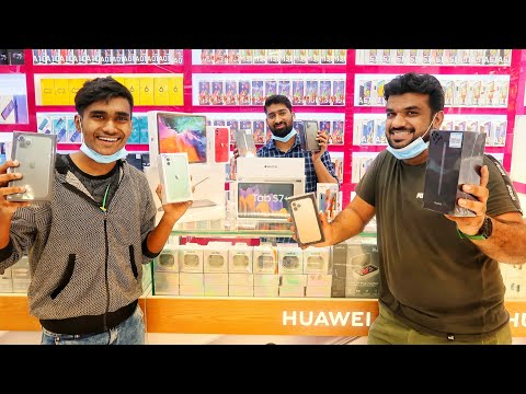 DUBAI'S CHEAPEST MOBILE MARKET | EXPORT TO INDIA AND US WITH