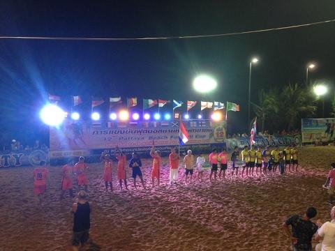 Thailand vs Holland (3-4) HD, full match, 12th Pattaya Beach Football Cup 2017, Thailand