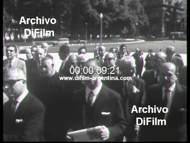 DiFilm - Ceremony Ambassador of Arabia in Buenos Aires 1967 Videos De Viajes
