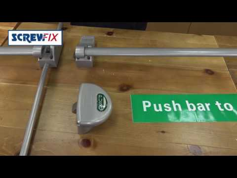 Screwfix - EuroSpec Easi Exit Panic Bars
