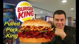 NEW!! Burger King ® PULLED  PORK  Sandwich-Review