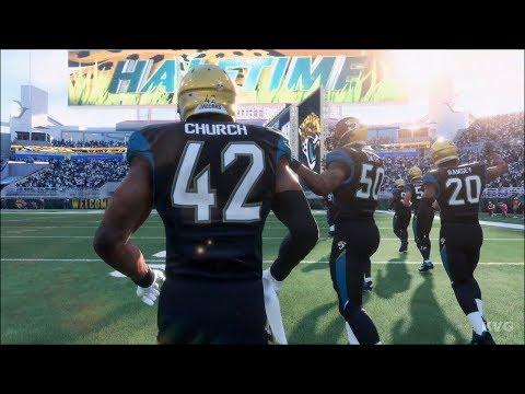 Madden NFL 18 - Jacksonville Jaguars vs Tennessee Titans - Gameplay (HD) [1080p60FPS]