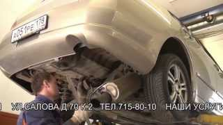 Замена глушителя  и установка гофры  на Mitsubishi Galant.замена гофры в СПБ.(Замена глушителя и установка гофры на Mitsubishi Galant., 2013-07-27T01:46:53.000Z)