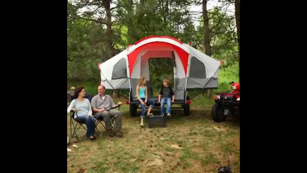 Best Lifetime Deluxe Tent Trailer Kit & Best Lifetime Deluxe Tent Trailer Kit - YouTube