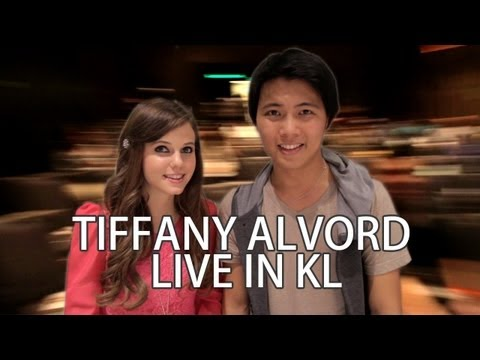 OPENING FOR TIFFANY ALVORD LIVE IN KL! 2013