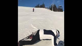 HILARIOUS SKI FAIL **SWEDISH GIRL FALLING** EPIC FUNNY HAHA