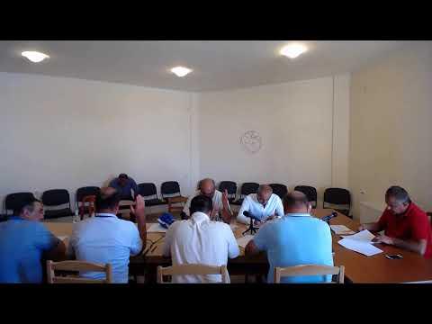 Մարմաշեն համայնքի ավագանու հուլիսի 18-ի նիստը
