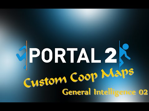 Portal 2 Community Maps: General Intelligence Test 02: Flinging and Bridges (very tricky   German)
