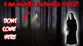3 AM CHALLENGE IN THE HAUNTED ENCHANTED FOREST | MOE SARGI