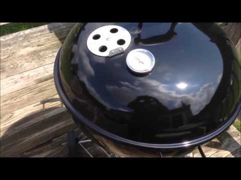 How to Light Charcoal in the Rain  How I Fireup My Weber Kettle Grill in the Rain and Snow