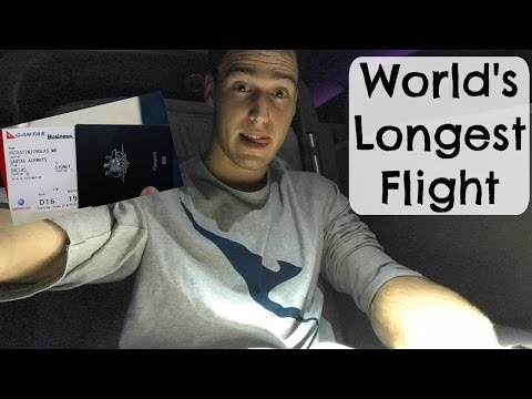 World's Longest Flight on the A380 Dallas to Sydney | USA - VLOG