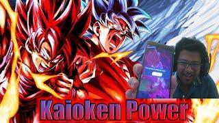 Triple Kaioken Goku Rampaging in PVP!! 2nd Anniversary Dragon Ball Legends