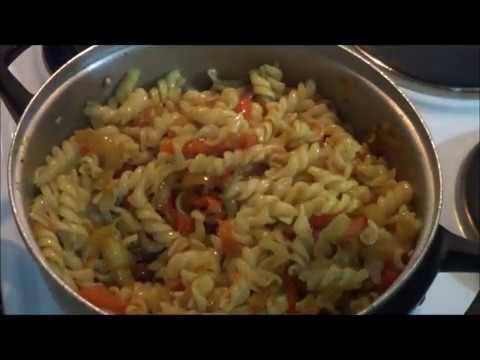 Макароны с...  или просто вкусный ужин. Вторые блюда. Рецепты.