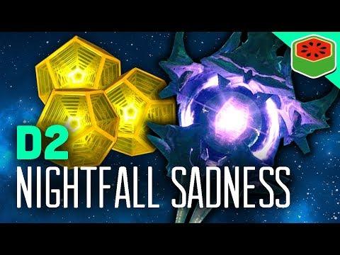 NIGHTFALL SADNESS! | Destiny 2 – The Dream Team