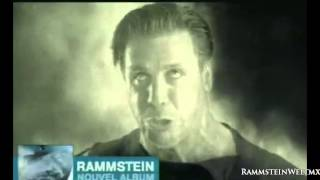 TV Advert | Rammstein - Álbum Rosenrot [France]