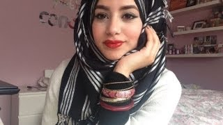 Repeat youtube video Quick & Simple Hijab Tutorial!
