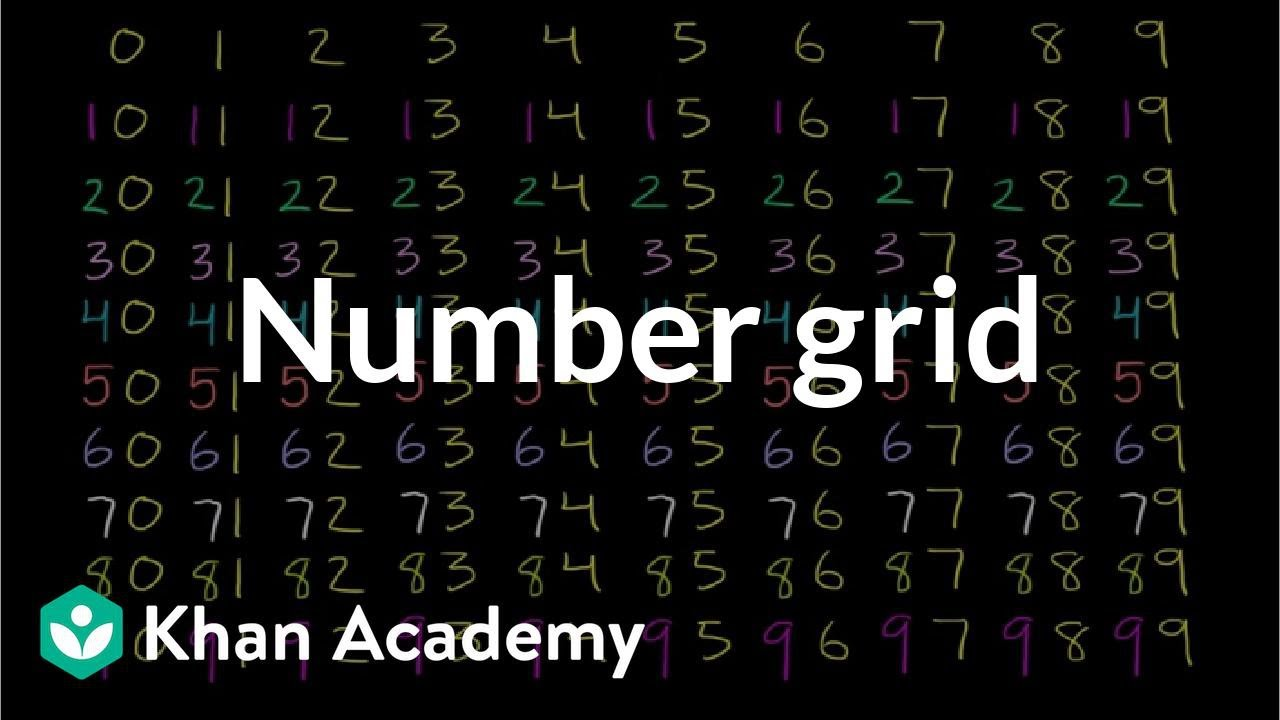 Number grid (video) | Numbers 0 to 120 | Khan Academy