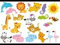 Learn Jungle Animals Names and Sounds | With Cartoon characters for kids | US SMART KIDS