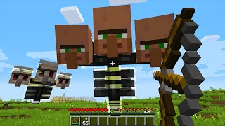 CURSED MINECRAFT BUT IT'S UNLUCKY LUCKY FUNNY MOMENTS PART 1