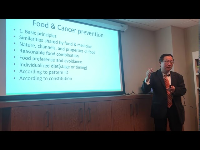 Food and Cancer Prevention