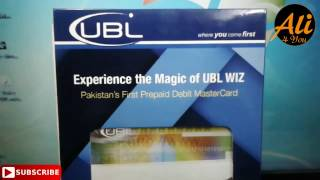 How To Get UBL Wizz Internet Card