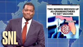 Weekend Update: Vaccine Fraud and Mars Rover - SNL