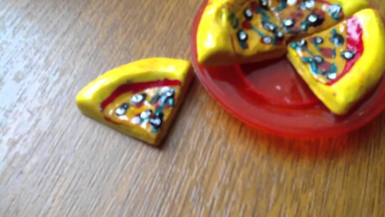 фото еды из пластилина для кукол
