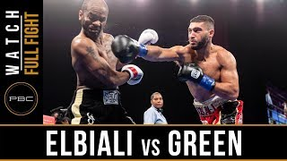 Elbiali vs Green FULL FIGHT: January 13, 2019 - PBC on FS1