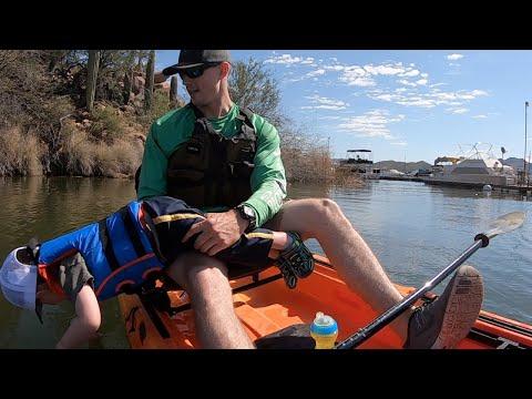 Toddlers First Kayak Trip
