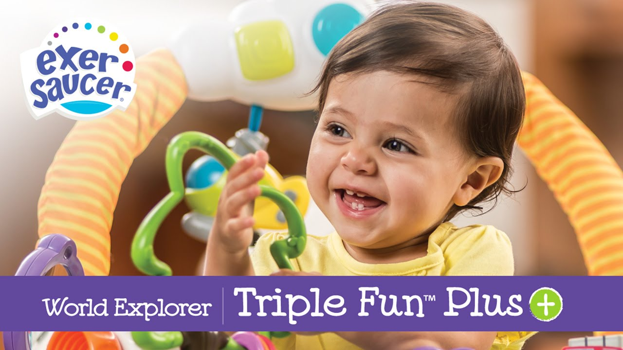 exersaucer triple fun instruction video