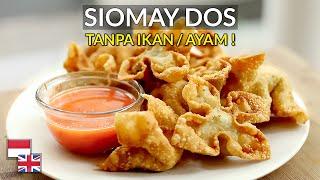 Sausnya PENTING Resep Siomay Goreng Dos Kenyal Gurih TANPA Ikan Ayam