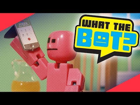 What the Bot? 💩 | EVIL Phone vs Stikbot