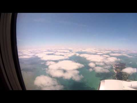 Flight from Miami to Antigua on a Boeing 737