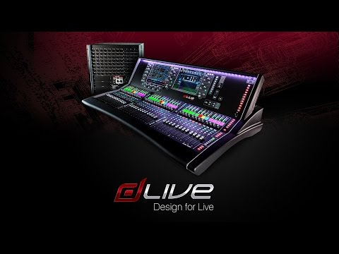 Allen & Heath dLive Digital Mixing System