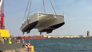 XQUISITE YACHTS X5 SAIL #001 launch video