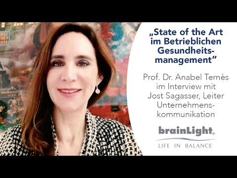 """""""State of the Art im Betrieblichen Gesundheitsmanagement"""" – Interview mit Prof. Dr. Anabel Ternès"""