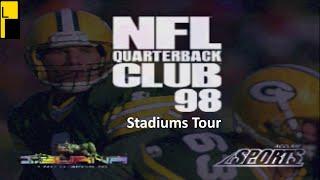 NFL Quarterback Club 98 All Stadiums (4K60FPS)