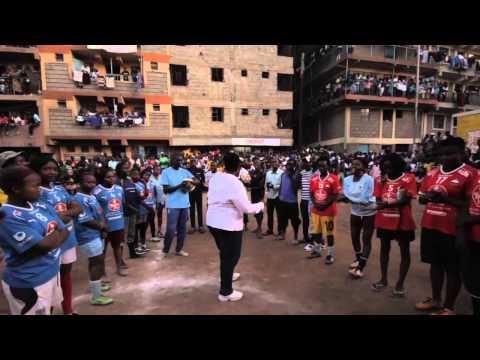 Girls Slum Soccer Tournament