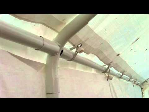 Harbor Freight 10 x 20 Canopy Assembly Tips