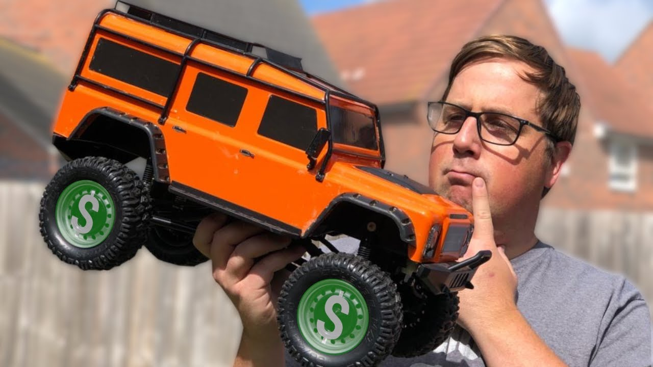 Why is this TOY Grade RC Car so Expensive! - Carson (Double e) 1:8 Land Rover