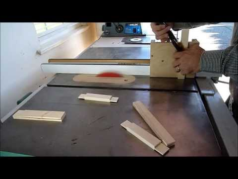 Make a Raised-Panel Door using only a table saw