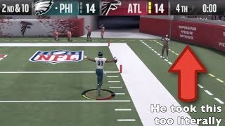 Madden 18 NOT Top 10 Plays of the Week Episode 28 - LMAO Worst Celebration in Madden History
