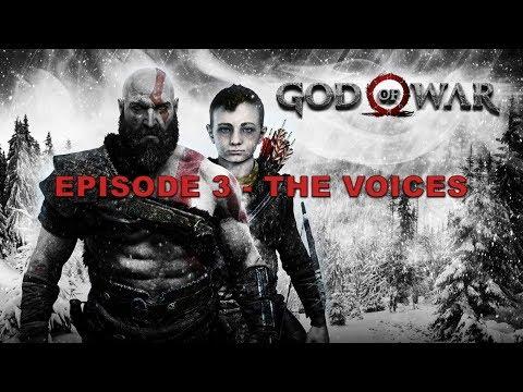 GOD OF WAR: KRATOS & ATREUS EPISODE 3 - THE VOICES | HipHopGamer Live