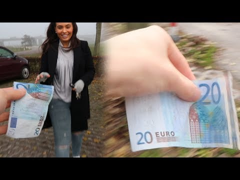 WE HEBBEN 20 EURO GEVONDEN! - JOB VLOG #4