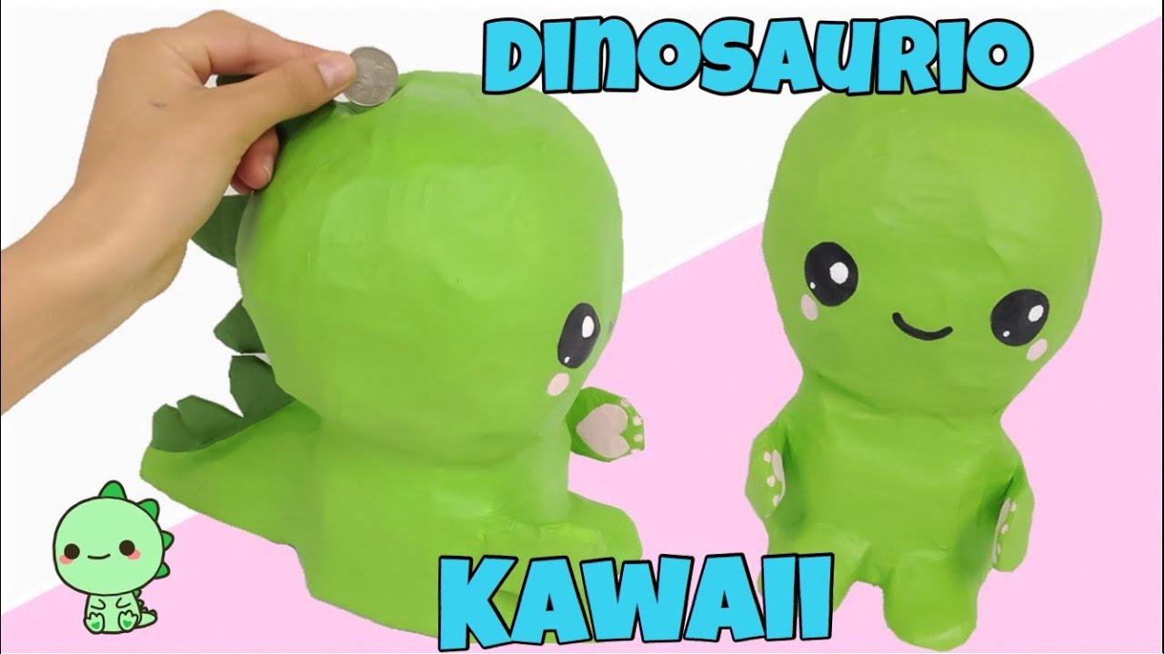 Manualidades kawaiicomo hacer una alcanc a dinosaurio - Ver como hacer manualidades ...